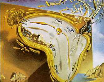 """Moment Of Explosion"" by Salvador Dali (1954)"